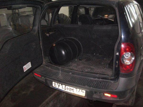 ГБО в багажнике