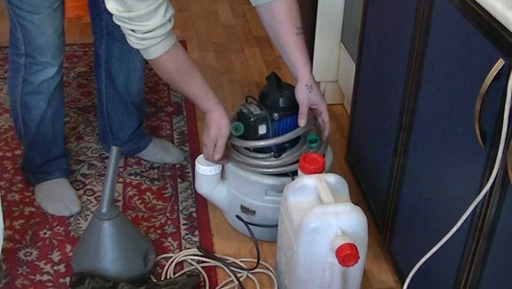 Чистим газовый котел с помощью химии