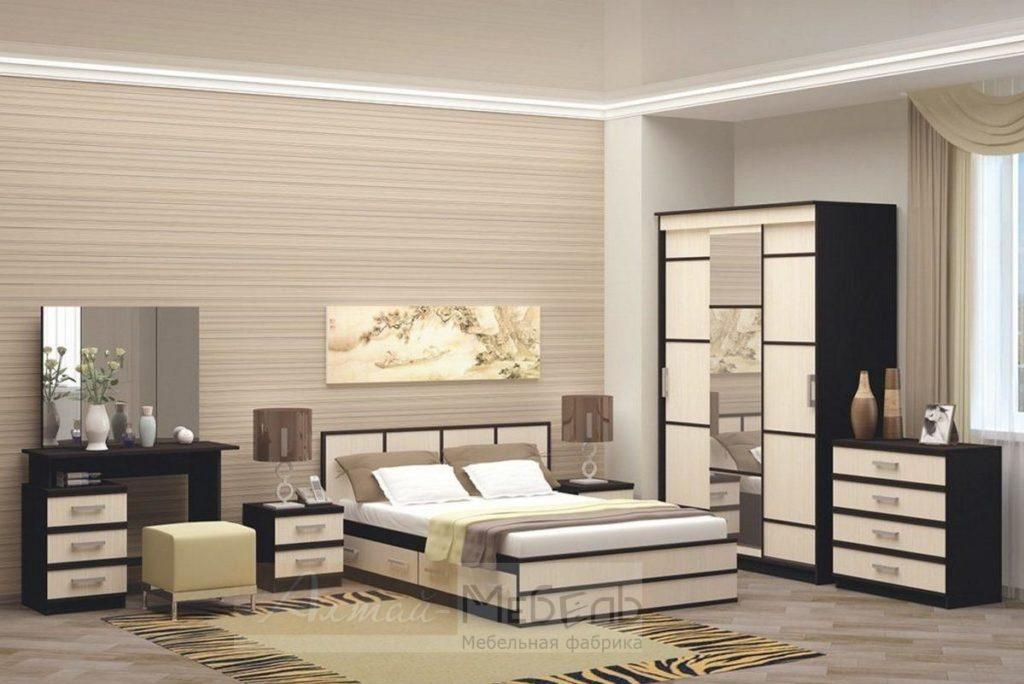 Модульная мебель для спальни: особенности и достоинства