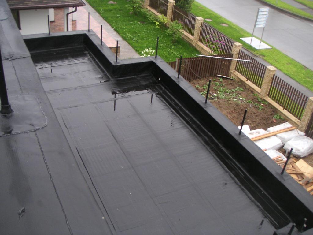 Покрытие плоских крыш