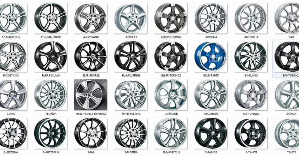 Колесные диски: ключевые особенности, распространенные виды, правила выбора