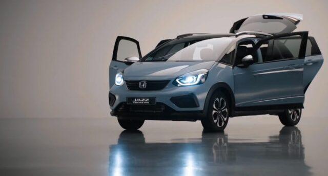 Новый Jazz заряжает линейку Honda электричеством