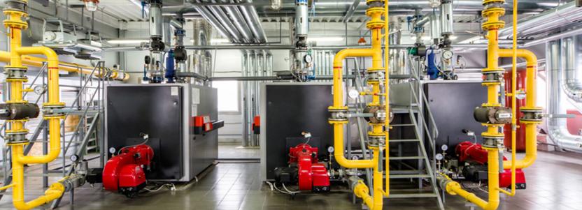 Как выглядит промышленное газовое оборудование