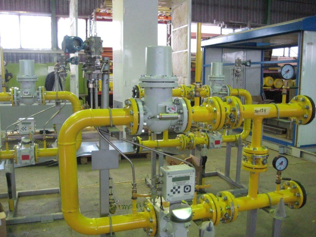 обслуживание промышленного газового оборудования