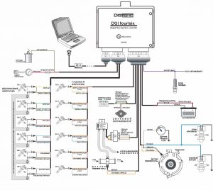 Схема подключения диждитроник