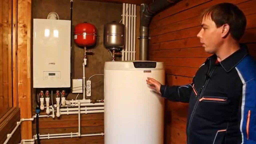 Принцип работы газового котла с бойлером