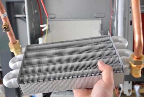 Накипь на теплообменнике в газовом котле Паяный теплообменник Funke NPL 5 Соликамск